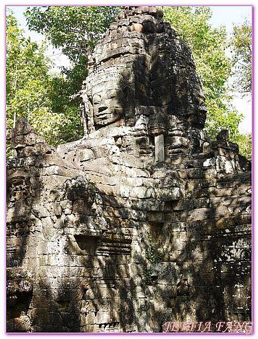 吳哥外圍遺址群,吳哥窟旅遊,柬埔寨,柬埔寨旅遊,達宋將軍廟Ta som @傑菲亞娃JEFFIA FANG