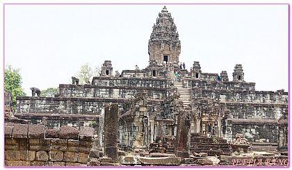 吳哥窟旅遊,柬埔寨,柬埔寨旅遊,羅洛士ROLUS遺址群,羅洛士遺址群巴孔寺BAKONG @傑菲亞娃JEFFIA FANG