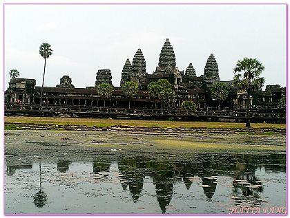 吳哥窟旅遊,小吳哥,小吳哥Angkor Wat,柬埔寨,柬埔寨旅遊 @傑菲亞娃JEFFIA FANG