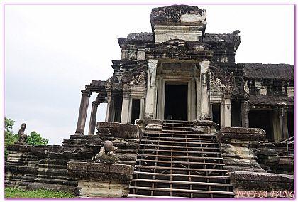 吳哥窟旅遊,小吳哥,小吳哥窟ANGKOR WAT,柬埔寨,柬埔寨旅遊 @傑菲亞娃JEFFIA FANG
