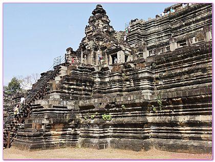 ANGKOR THOM巴本宮殿,吳哥窟旅遊,大吳哥城,柬埔寨,柬埔寨旅遊 @傑菲亞娃JEFFIA FANG