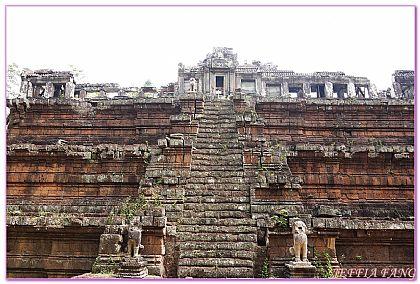 吳哥窟旅遊,大吳哥城,大吳哥城Angkor Tom,柬埔寨 @傑菲亞娃JEFFIA FANG