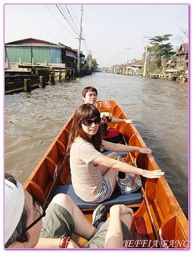 丹能朵莎歐式水上市場,景點,泰國,泰國旅遊,泰國曼谷自由行 @傑菲亞娃JEFFIA FANG
