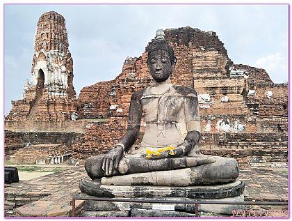 景點,曼谷自由行,泰國,泰國大城Ayutthaya,泰國旅遊 @傑菲亞娃JEFFIA FANG