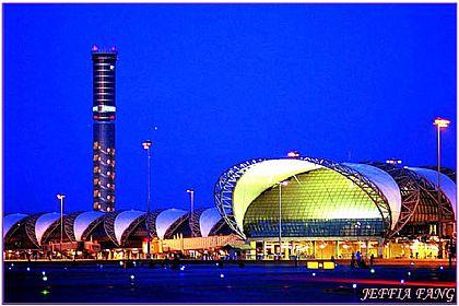 曼谷自由行,機場,泰國,泰國旅遊,泰國曼谷蘇汪納蓬國際機場 @傑菲亞娃JEFFIA FANG