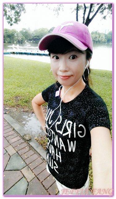 曼谷自由行,曼谷路跑倫披尼公園LUMPHINI,泰國,泰國旅遊,路跑及活動 @傑菲亞娃JEFFIA FANG