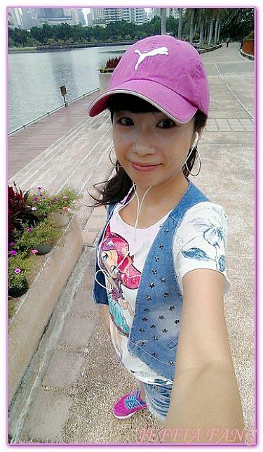 曼谷自由行,曼谷路跑BENJAKITTI公園,泰國,泰國旅遊,路跑及活動 @傑菲亞娃JEFFIA FANG