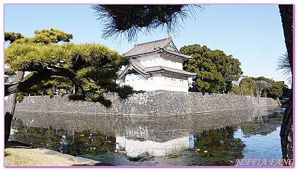 日本,日本旅遊,景點,東京皇居外苑,東京自由行 @傑菲亞娃JEFFIA FANG