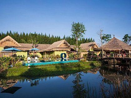 ASITA ECO RESORT環保,夜功府,泰國,泰國旅遊,飯店 @傑菲亞娃JEFFIA FANG