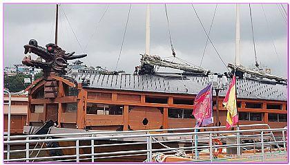 景點,統營江口岸龜船,釜山自由行,韓國,韓國旅遊 @傑菲亞娃JEFFIA FANG