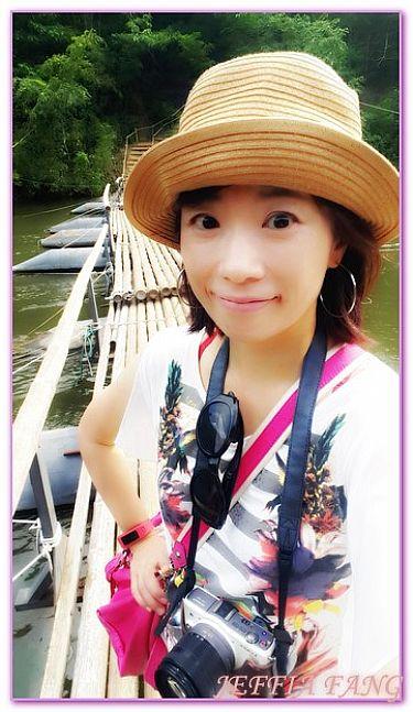 ORIGINAL FLOATING飯店,北碧府,泰國,泰國旅遊,飯店 @傑菲亞娃JEFFIA FANG