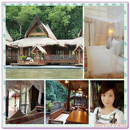 THE FLOAT HOUSE渡假村,北碧府,泰國,泰國旅遊,飯店 @傑菲亞娃JEFFIA FANG
