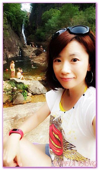 KLONG PLU 瀑布,景點,泰國,泰國旅遊,達叻府象島 @傑菲亞娃JEFFIA FANG