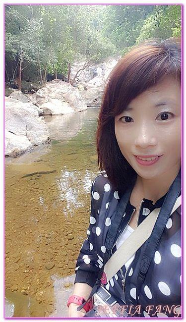 KOH CHANG,THAN MAYOM瀑布,景點,泰國,泰國旅遊 @傑菲亞娃JEFFIA FANG