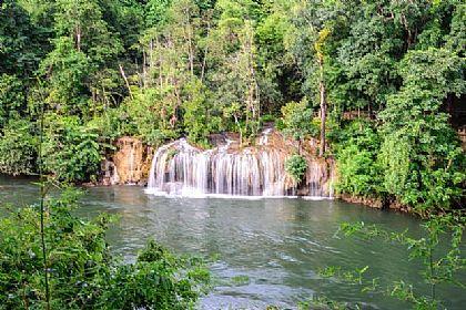 SAI YOK國家公園瀑布,北碧桂河綠色探索,景點,泰國,泰國旅遊 @傑菲亞娃JEFFIA FANG