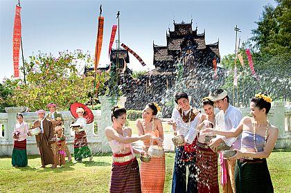 Songkran Festival,泰國,泰國旅遊,泰國潑水節,泰國節慶 @傑菲亞娃JEFFIA FANG