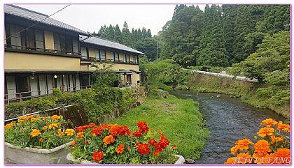 北九州大分縣,日本,日本旅遊,景點,竹田市長湯氣泡溫泉 @傑菲亞娃JEFFIA FANG