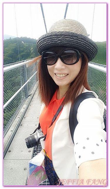 北九州大分縣,大分九重夢大橋,日本,日本旅遊,景點 @傑菲亞娃JEFFIA FANG