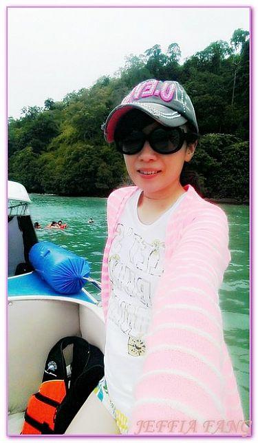 喀比KRABI,景點,泰國,泰國旅遊,跳島趣雞島一線天管子島 @傑菲亞娃JEFFIA FANG