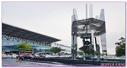 台灣虎航飛大邱機場往返市區,大邱自由行,機場+交通+退稅,韓國,韓國旅遊 @傑菲亞娃JEFFIA FANG