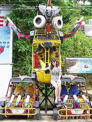 活動,菲律賓,長灘島ATV,長灘島BUGGY CAR,長灘島四輪驅動車 @傑菲亞娃JEFFIA FANG
