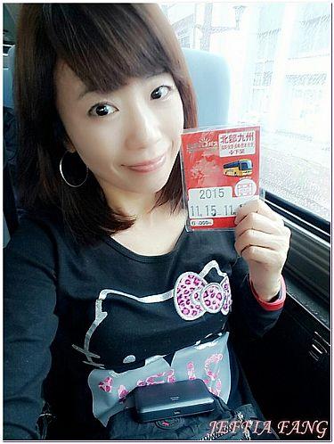 九州自由行,日本,日本旅遊,機場及交通,西鐵巴士SUNQ PASS @傑菲亞娃JEFFIA FANG