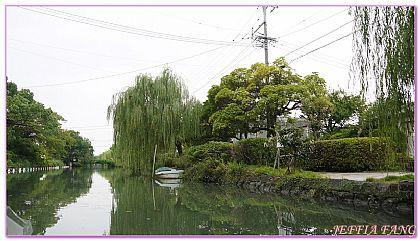 日本,日本旅遊,景點,柳川YANAGAWA遊船,福岡自由行 @傑菲亞娃JEFFIA FANG