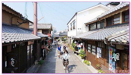 單車豆田町散策,日本,日本旅遊,景點,福岡SUNQ PASS自由行 @傑菲亞娃JEFFIA FANG