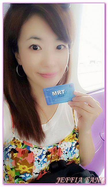 MRT新紫線CENTRAL百貨,交通,曼谷自由行,泰國,泰國旅遊 @傑菲亞娃JEFFIA FANG