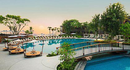 HuaHin Marriott,泰國,泰國旅遊,華欣自由行,飯店 @傑菲亞娃JEFFIA FANG
