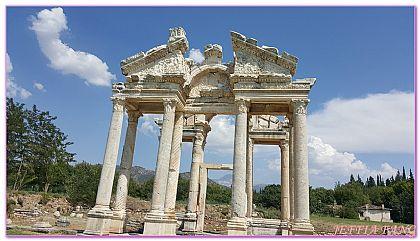 土耳其,土耳其旅遊,帕穆卡麗棉堡,景點,阿芙羅迪西亞 @傑菲亞娃JEFFIA FANG