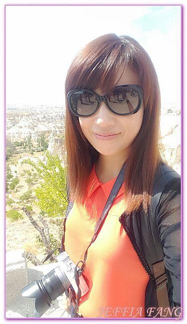 卡帕多奇亞,土耳其,土耳其旅遊,景點,獵人谷烏奇沙UCHISAR城堡 @傑菲亞娃JEFFIA FANG