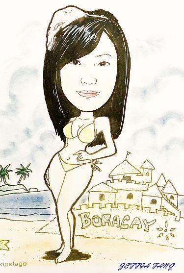 SHOPPING,菲律賓,長灘島旅遊,長灘島相館及畫師,長灘島自由行 @傑菲亞娃JEFFIA FANG