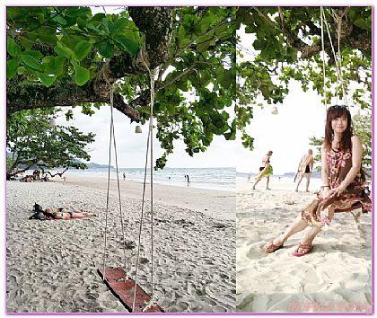 景點,泰國,泰國旅遊,象島KOH CHANG,象島市中心白沙灘 @傑菲亞娃JEFFIA FANG
