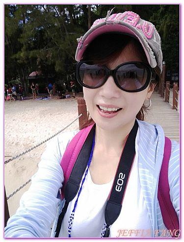景點,東姑阿都拉曼海洋公園馬努干島,沙巴旅遊,馬來西亞,馬來西亞旅遊 @傑菲亞娃JEFFIA FANG
