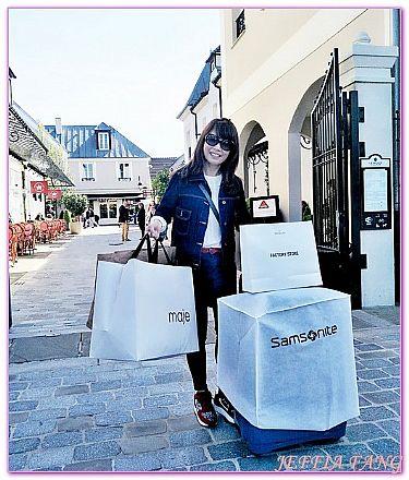 LA VALLEE購物村,SHOPPING及OUTLET,比斯特購物村系列,法國旅遊,西歐法國 @傑菲亞娃JEFFIA FANG