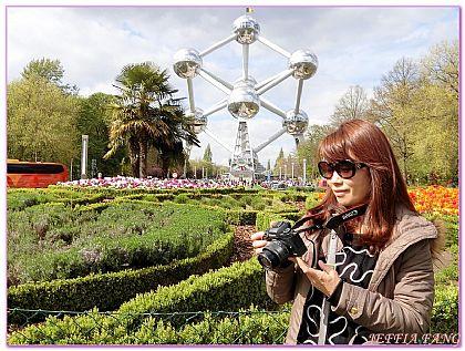 原子球塔ATOMIUM,布魯塞爾,景點,比利時旅遊,西歐比利時 @傑菲亞娃JEFFIA FANG