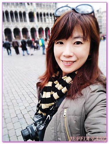 布魯塞爾,布魯塞爾大廣場GRANDPLACE,景點,比利時旅遊,西歐比利時 @傑菲亞娃JEFFIA FANG