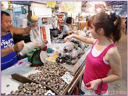 傳統市場/水上市場,曼谷傳統菜市場,泰國,泰國旅遊,泰國曼谷自由行 @傑菲亞娃JEFFIA FANG