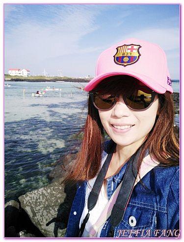 景點,月汀里透明皮艇體驗,濟州JEJU島,韓國,韓國旅遊 @傑菲亞娃JEFFIA FANG