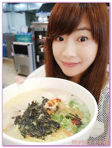 濟州JEJU島,韓國,韓國旅遊,餐廳/小吃街,麵條文化街三代麵條會館 @傑菲亞娃JEFFIA FANG