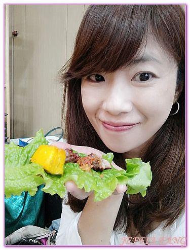 日出食堂黑毛豬烤肉,濟州JEJU島,韓國,韓國旅遊,餐廳/小吃街 @傑菲亞娃JEFFIA FANG