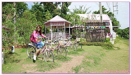 景點,泰北拜縣PAI,泰國,泰國旅遊,粉紅小屋大樹鞦韆 @傑菲亞娃JEFFIA FANG