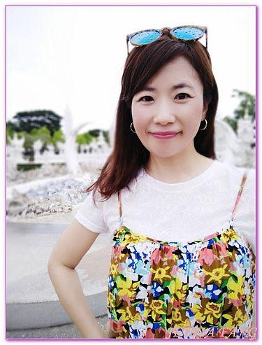 景點,泰北清萊,泰國,泰國旅遊,白廟WAT RONG KHUN @傑菲亞娃JEFFIA FANG