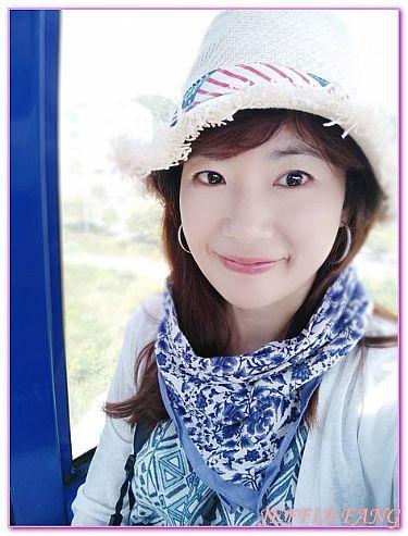 慶尚南道,景點,統營閑麗水道觀景纜車,韓國,韓國旅遊 @傑菲亞娃JEFFIA FANG