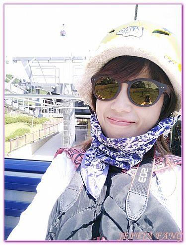SKYLINE LUGE,慶尚南道統營,景點,韓國,韓國旅遊 @傑菲亞娃JEFFIA FANG