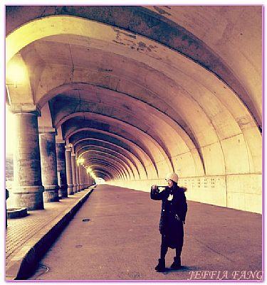 傳統副港市場,北海道,日本,日本旅遊,景點,稚內北防波堤圓頂長廊 @傑菲亞娃JEFFIA FANG