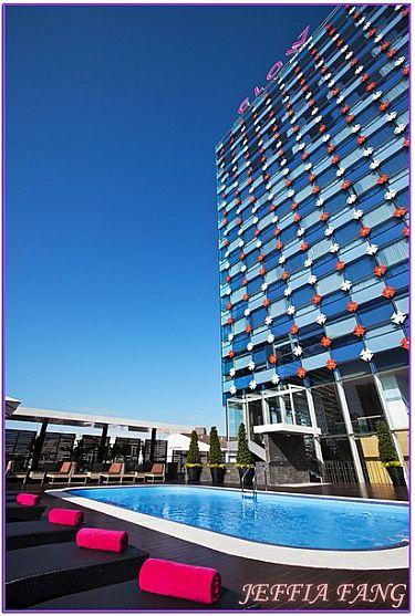 曼谷水門飯店,曼谷自由行,曼谷飯店,泰國,飯店 @傑菲亞娃JEFFIA FANG