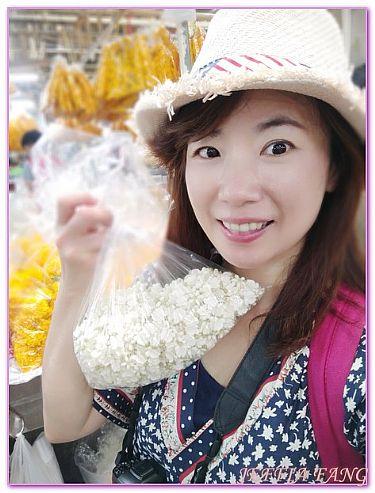 PakKhlong Talat花市,景點,曼谷自由行,泰國,泰國旅遊 @傑菲亞娃JEFFIA FANG