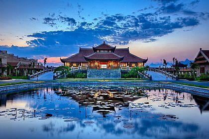 寧平陸龍灣EMERALDA RESORT,河內,越南,越南旅遊,飯店或度假村 @傑菲亞娃JEFFIA FANG